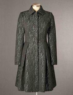 boden  Metallic Jacquard Coat