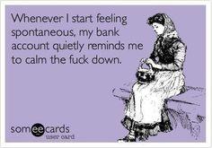 Funny financial ecard