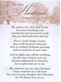 Christmas has been changed forever,the Joy of the season has left my heart....Missing You...Broken Hearted <3...