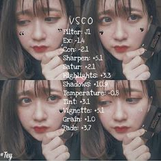 Vsco Cam Filters, Vsco Filter, Vsco Effects, Vsco Edit, Lightroom, Photo Editing, Recipe Photo, Pictures, Photography