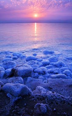 Dead Sea Sunset, Jordan