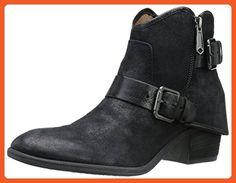 Donald J Pliner Women's Dalis-RK Boot, Black Reverse Calf, 8 M US - Boots for women (*Amazon Partner-Link)