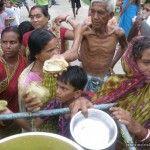 Prasadam Distribution at Murari Gupta Village on 29 June 2013 29 June, Action, Life, India, Food, Group Action, Goa India, Essen, Meals