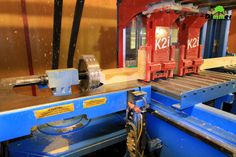 Hundegger K2i is the basic equipment for production of wooden houses, both for the blockhouse and for timber frame structure; It is designed by the world renowned manufacturer of automatic lines of woodworking;