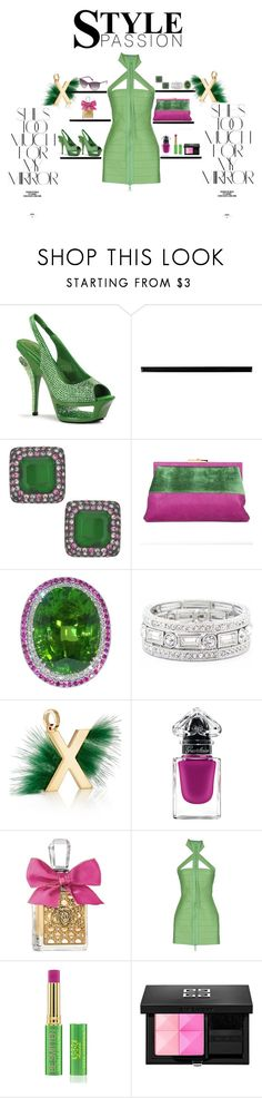 """""""That Look"""" by theresagray31 on Polyvore featuring Pleaser, Merola, Kenneth Jay Lane, Roberta Di Camerino, Sole Society, Fendi, Guerlain, Juicy Couture, Dsquared2 and Tata Harper"""