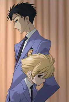 Ouran ~~~ Mori and Honey! There so beautiful (: