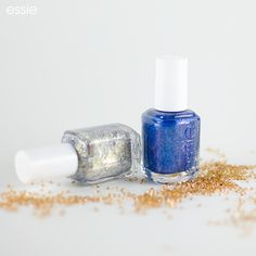 'Like' if your mani shimmers like these Swarovski Crystals.