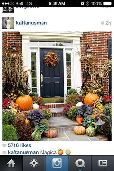 pumpkins fall decor