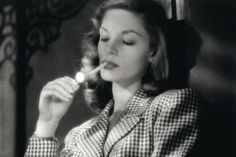 "Lauren Bacall in ""To Have and Have Not,"" 1944.  ""You know how to whistle, don't you, Steve? You just put your lips together and blow."""