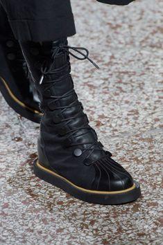 aa70837dd3353 Yohji Yamamoto at Paris Fashion Week Spring 2017. Yohji Yamamoto ShoesShoes  2017Women s ...