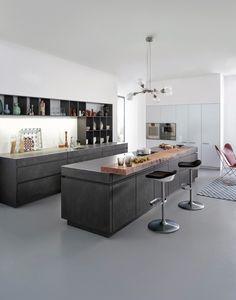 БЕТОН - АРХИТЕКТУРНАЯ КЛАССИКА ВЫЗЫВЕТ НА КУХНЕ НОВЫЕ ИМПУЛЬСЫ › LEICHT – Модный кухонный дизайн для современного жилья