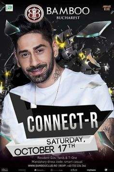 TONIGHT!!! CONNECT-R at BAMBOO Bucharest!!!