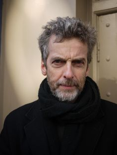 This right here is how they need to style Peter Capaldi for the Doctor.  Listen to me, Moffat!