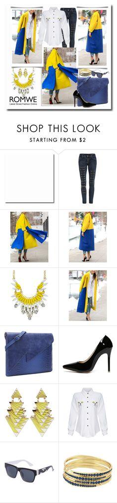 """www.romwe.com-IX-4"" by ane-twist ❤ liked on Polyvore featuring SHOUROUK, women's clothing, women's fashion, women, female, woman, misses, juniors and romwe"