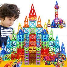 72pcs Magnetic Designer Creator Magformers Educational Magnetic Toys 3D DIY Building Blocks Bricks Juguetes Kids Toys Gift(China (Mainland))