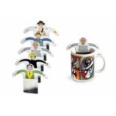 Great Artists Tea Bags via @SFMOMA
