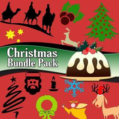 Brother Scan n Cut – Christmas Bundle Pack – FREE DOWNLOAD – 60+ Cutting Files