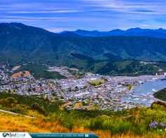 Picton in New Zealand in the Marlborough Region of New Zealand's South Island. New Zealand Flights, New Zealand Cities, New Zealand Houses, Visit New Zealand, New Zealand Travel, Picton New Zealand, New Zealand Attractions, New Zealand South Island, South Pacific