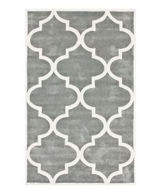 Love this nuLOOM Slate Geometric Trellis Rug by nuLOOM on #zulily! #zulilyfinds
