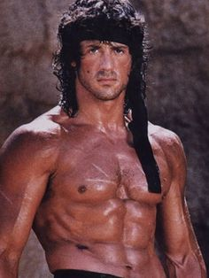 Sylvester Stallone....one of the awesomest actors ever