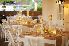 Rustic Chic Yellow & Gray Wedding