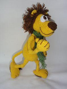 Leon the Lion Amigurumi Crochet Pattern by IlDikko on Etsy