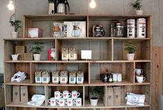 Coffee Equipment Storage