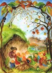 Franziska Sertori-Kopp - Wurzelkinder im Herbst
