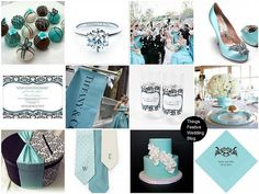 wedding bouquets white and tiffany blue | image credits resources invitation damask vase wrap personalized ...