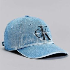 fe00fe2c241 URBAN OUTFITTERS CALVIN KLEIN BASEBALL HAT Adjustable strapback  Check.  Amazing denim material  Check