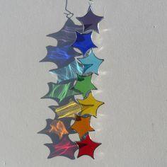 trencito de estrellas de colores