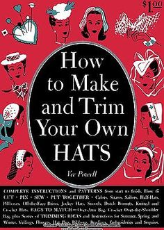 1944-Book-How-to-Make-Trim-Hats-40s-Millinery-Patterns