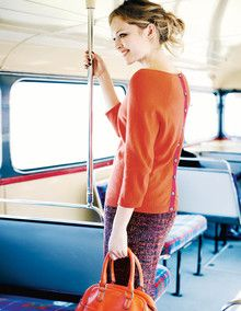 the Everyday Button Back Sweater makes commuting effortless