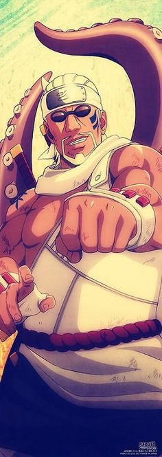 Killer Bee. #naruto
