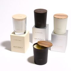 Linari candles - LOVE THIS PACKAGING IDEA