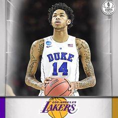 LA Lakers intend to select Brandon Ingram with 2nd pick in NBA Draft. (via 29d41b8ba