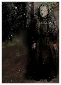 Vintage ghost girl