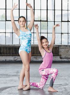 Her poses are more print perfect in our new Dance & Gymnastics collection of sports bras, leggings, leotards, tees, tanks and more.