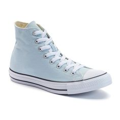 Adult Converse All Star Chuck Taylor High-Top Sneakers, Size: M7W9, Light Blue