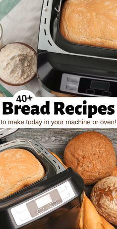 no yeast bread machine recipes Cuisinart Bread Machine Recipe, Bread Machine Recipes Healthy, Bagel Bread Machine Recipe, Breville Bread Maker Recipes, Breadmaker Bread Recipes, White Bread Machine Recipes, Bread Machine Mixes, Best Bread Machine, Bread Machines
