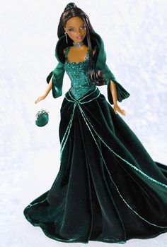 This Barbie is Fierce!!!! She even has some hips and some thickness to her body! I love it!