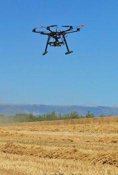The future of farming: Drones, robots and GPS ... #Drones #Robots #Robotics #RemoteControl