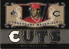 2007 SP Legendary Cuts - Legendary Materials #LM-KG Ken Griffey Sr. Front