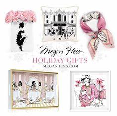 Megan Hess Holiday gifts