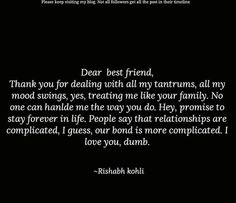 Ideas Birthday Gifts For Best Friend Guy Friendship Valentines Day For 2019 - Modern Besties Quotes, Sister Quotes, Bestfriends, Bffs, True Friendship Quotes, True Quotes, Friend Friendship, Friendship Gifts, Happy Birthday Best Friend Quotes