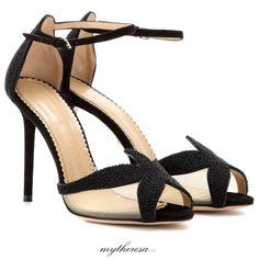 Charlotte Olympia beaded starfish heels from mytheresa.com