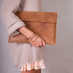 "Laptop Sleeve 13"" Camel, $85, now featured on Fab.  O My Bag Eco-Leather Bags For Everyone"