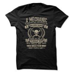 Awesome Mechanic Shirt