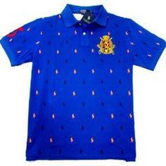 maglia ralph lauren pony in blu schiffli lobster polo.Blu Camicia di polo casuale, elementi decorativi Pois tutto il capo. Questo dipende da un forte senso.come contatto:Annapolo888@gmail.com
