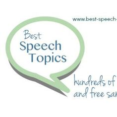 speech ideas for grade 7